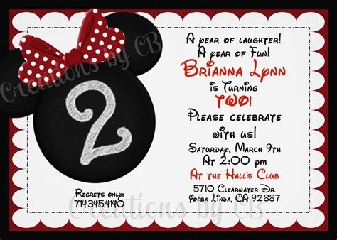 minnie mouse birthday invitations templates minnie mouse birthday invitation minnie mouse birthday