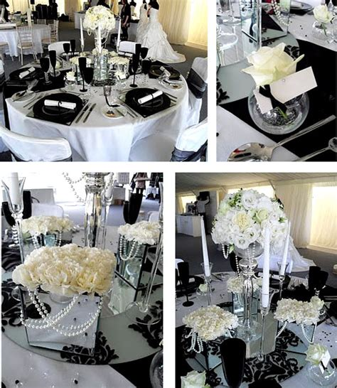 royal wedding accessories black and white wedding