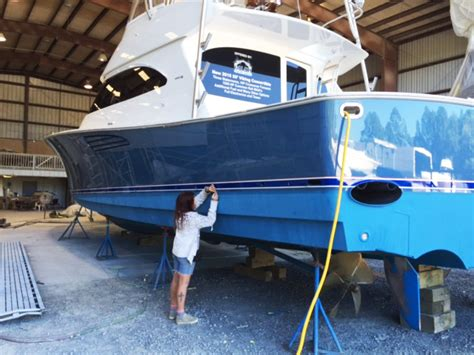emerald coast yacht refinishing panama city destin boat restoration repair painting service