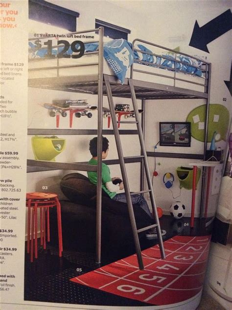 ikea loft bed ikea svarta loft bed connor s room ideas pinterest loft ikea and soccer ball