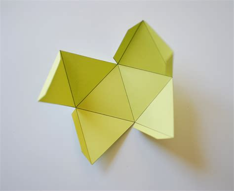 Paper Folding Shapes - make a beautiful paper polyhedron mobile