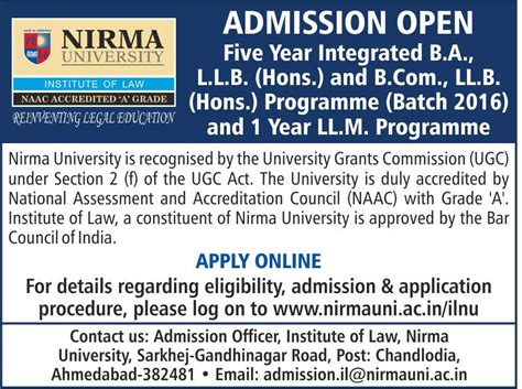 Nirma Mba Placement by Best Coaching For Cat Gre Gmat Banks Po Clat Sat Bba
