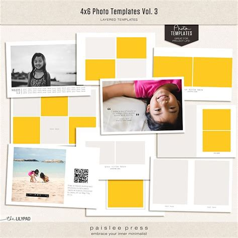 28 Best Images About 8x8 Album On Pinterest Collage Template Trips And Photo Displays 4x6 Photo Invitation Templates