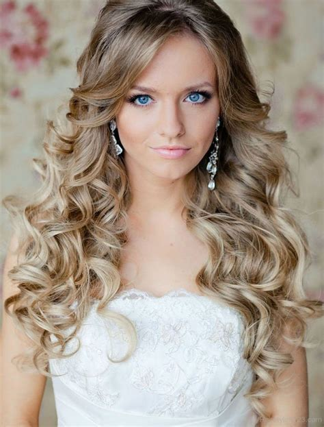 hairstyles with slight curls long curly hairstyle page 13