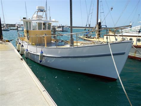 ebay trawler boats for sale cayzer timber cruiser commercial vessel boats online