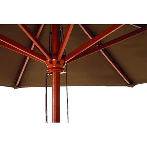 7 5 Market Patio Umbrella Brown Canopy Brown Patio Umbrella