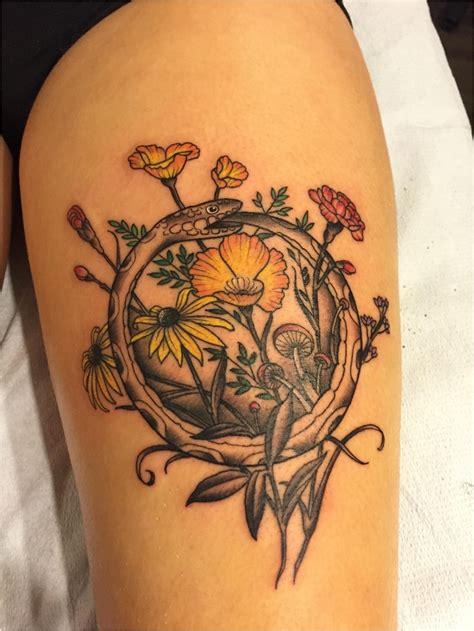 circle flower tattoo designs from delicate to rebellious 40 fabulous flower tattoos