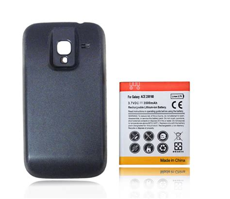 Backcover Backdoor Samsung Galaxy Ace 2 I8160 replacement battery extended backup 3500mah battery with back cover for samsung galaxy ace 2 gt