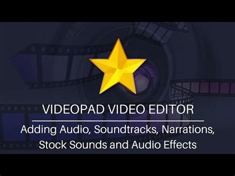 videopad audio tutorial videopad video editor haszn 225 lata doovi