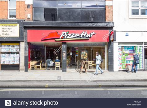 domino pizza eastbourne pizza hut restaurant uk stock photos pizza hut