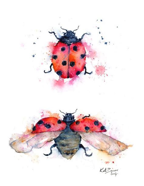 watercolor tattoos ladybug 25 best ideas about ladybug tattoos on