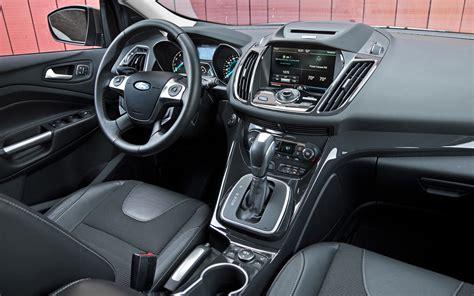 Ford Escape 2013 Interior by 2013 Ford Escape Titanium Vs Subaru Forester Xt Truck Trend