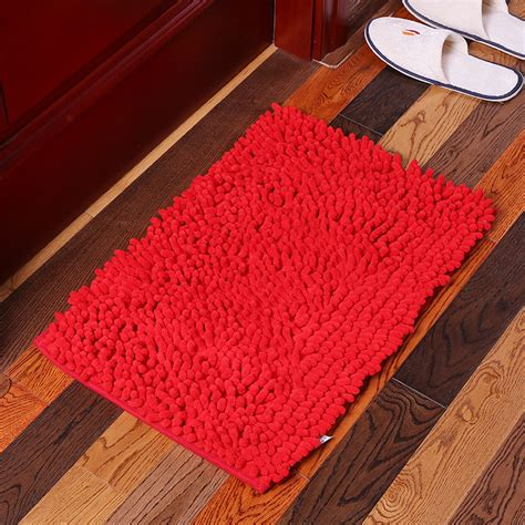 machine washable bathroom carpet kcasa kc 334 40x60cm chenille rough thick hair soft mat machine washable bathroom anti