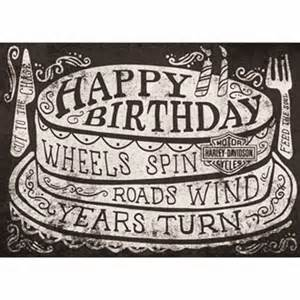 genuine harley davidson roll on birthday card ebay