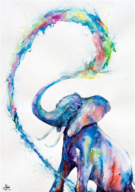 25 best ideas about watercolor animals on watercolor paintings of birds and