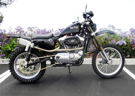 Butcher Build by Baja Iron Sportster Give Your Sportster A Sense Of Adventure