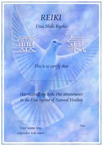 Reiki Certificate Template Free the world s catalog of ideas