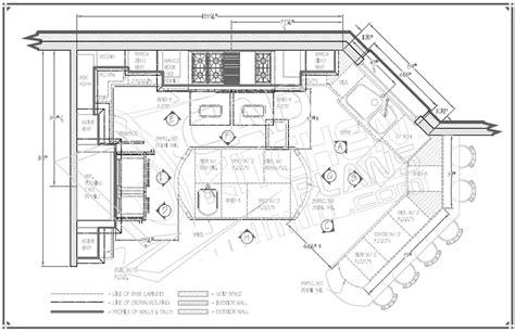 big kitchen floor plans kitchen floor plans with island and walk in pantry floor