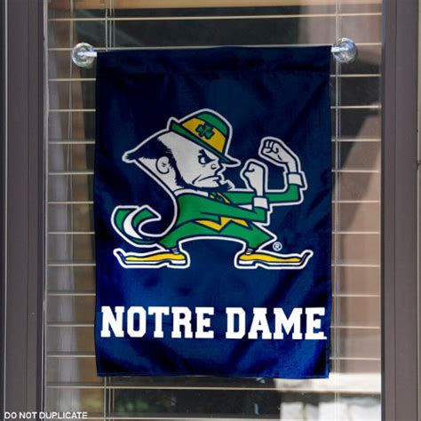 notre dame home decor notre dame fighting irish garden flag and yard banner home