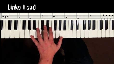 tutorial piano prayer in c klavier spielen lernen lektion 19 prayer in c tutorial