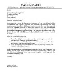 Sle Of Cover Letter by It Sales Cover Letter Exle Technology Professional