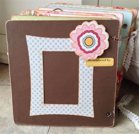 Handmade File Folder Designs - more fever another mini album