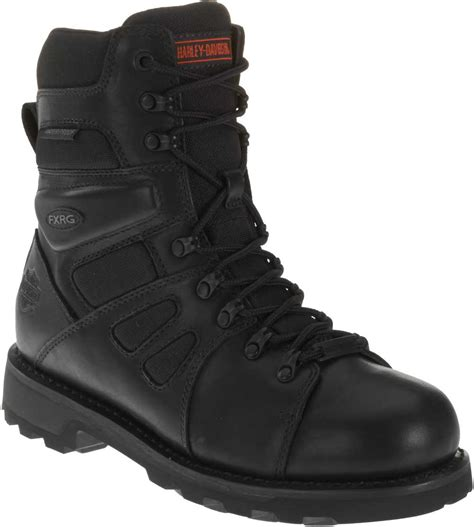 mens waterproof motorcycle boots harley davidson s fxrg 3 waterproof black leather