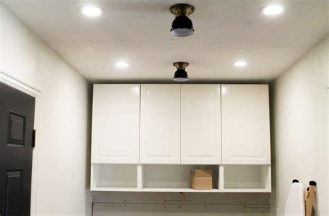 how to install ikea upper kitchen cabinets step by step how to trim out ikea cabinets chris loves julia