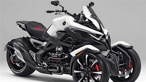 honda neowing trzykolowy koncept na tokyo motor show moto