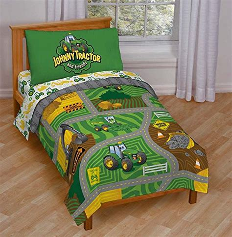 tractor bedding john deere bedding for a farm themed bed