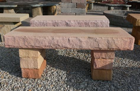 natural stone bench lones stone landscape supply natural stone benches