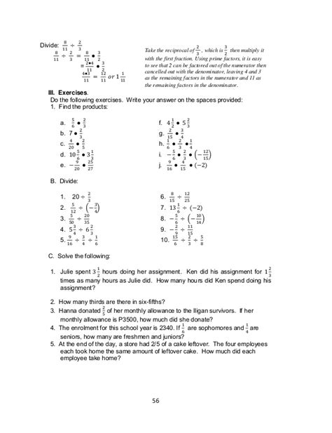 quotations math worksheet answers worksheets for