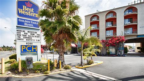 Hotels In Long Beach Ca On Pch - best western golden sails hotel 6285 e pacific coast hwy long beach ca best western