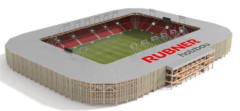 modulari in legno rubner holzbau stadi modulari in legno lamellare eco