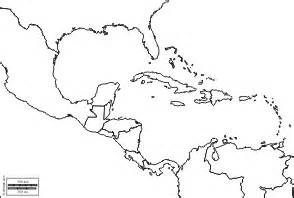 central and south america blank map blank map of central america my