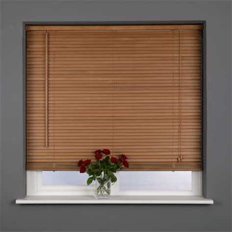 oak wood blinds sunlover wooden 25mm hardwood venetian blind ebay