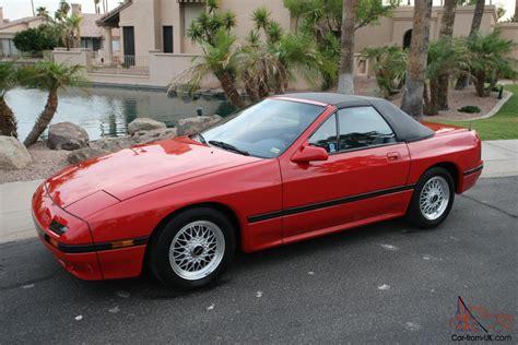 mazda rx7 1988 1988 mazda rx 7 convertible convertible 2 door 1 3l