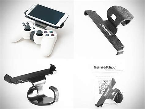 ps3 controller android gameklip combines ps3 controller with android phones poor s playstation phone