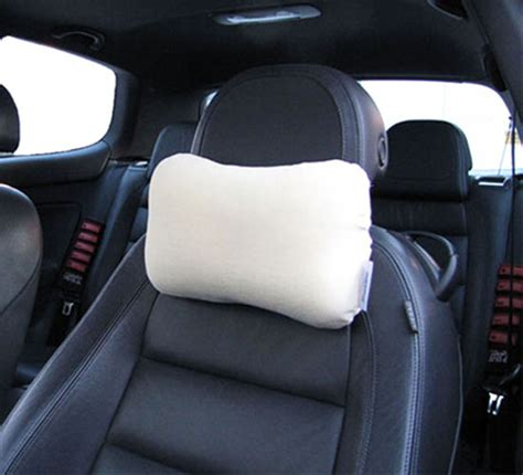 Car Pillow To Sit On memory foam car pillow for air flight travel office home