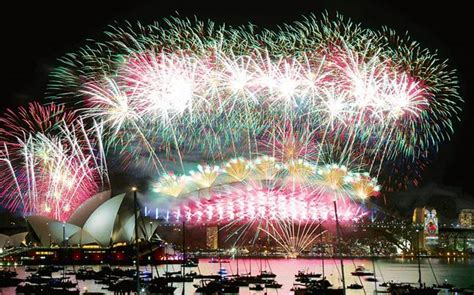 new years day in india sydney welcomes in 2016 with spectacular fireworks display across harbour bridge rest of the