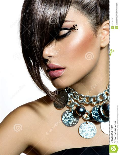 fashion glamour beauty girl royalty free stock photos