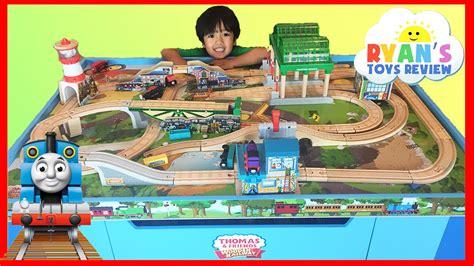 and wooden railway table 55 and wooden railway table set