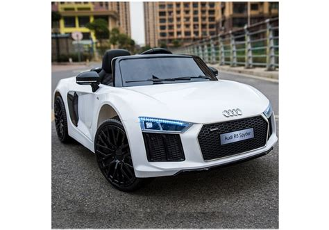 Audi R8 Spyder Electric Car by Audi R8 Spyder White Electric Ride On Car Electric