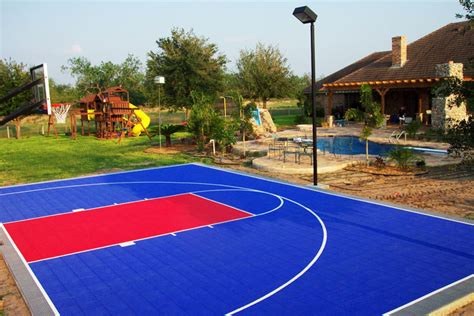 backyard basketball court the gallery for gt outdoor basketball court
