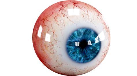 realistic human eye creature
