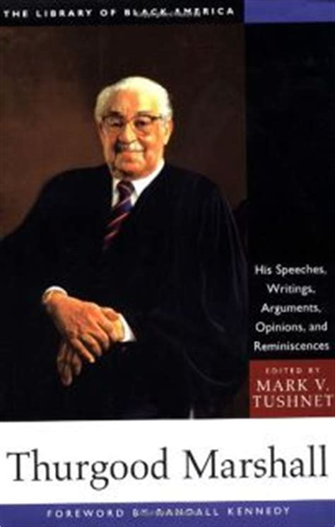 Nonfiction Book Review Thurgood Marshall His Speeches