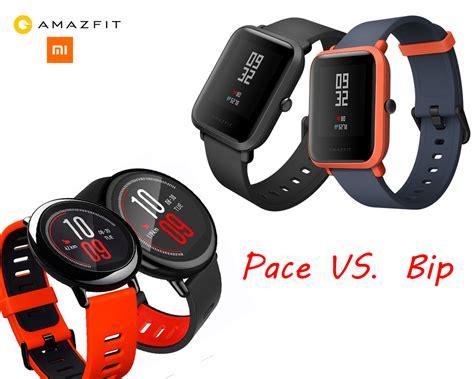 Amazfit Pace amazfit pace vs amazfit bip