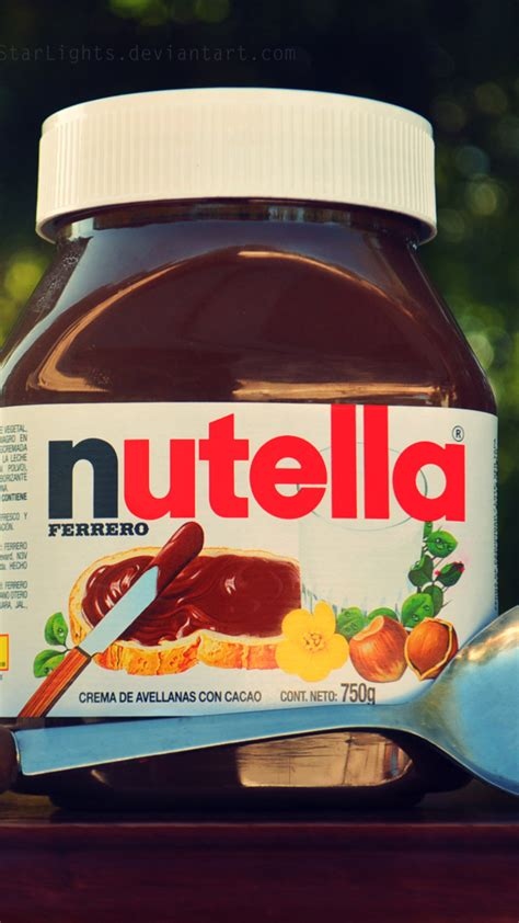 Nutella Jar Iphone All Hp nutella wallpapers 183