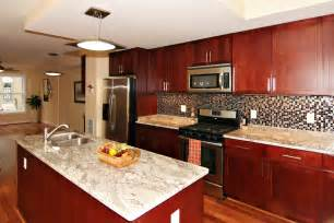 Kitchen Backsplash Murals kitchen stunning cherr wood kitchen cabinet pictures