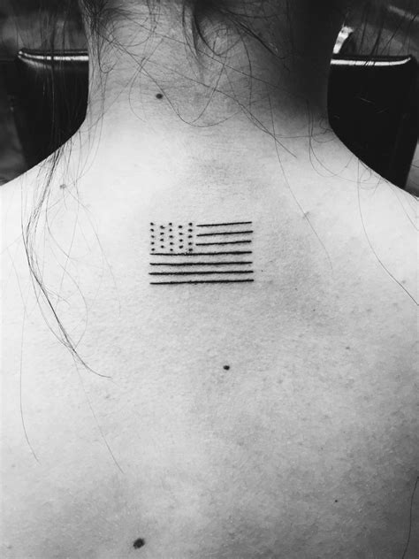 black and white flag tattoo simple american flag black and white tattoos